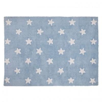Alfombra Blue White Star