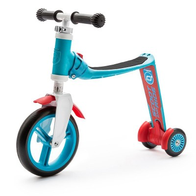 Patinete 2 En 1 Highwaybaby Plus Azul Rojo