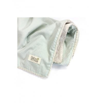 Manta Rev Polar algodón Mint