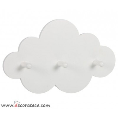 Percha Gra 2-3 Po Blanco Nube