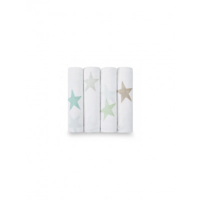Muselinas (4 -Pack) Super Star