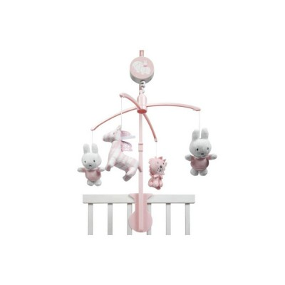 Carrusel Musical Miffy Rosa
