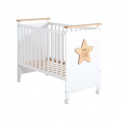 Cuna Baby Star 60x120 Blanco-M