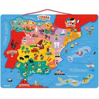 Puzle Magnético Mapa De España