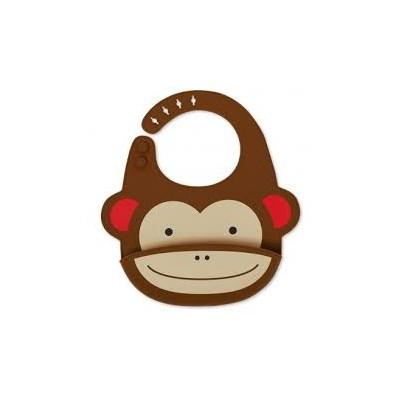 Babero Silicona Monkey
