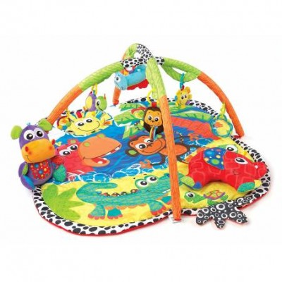 Gimnasio Jingle Jungla Luces Y Sonido Playgro