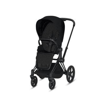 PRIAM Seat Pack Plus Stardust Black Plus | black