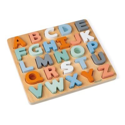 Puzzle Abecedario Madera