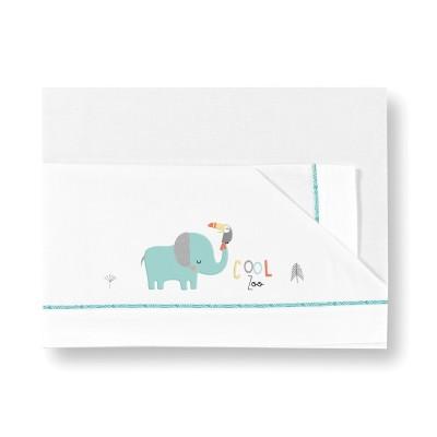 Sabanas Franela Mini Elefante