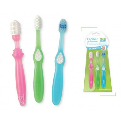 Set Cepillos Dentales Aprendiz