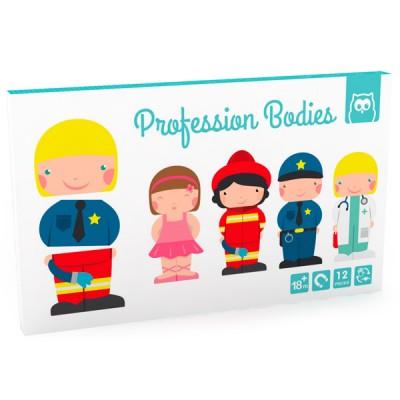 Magnetic Puzzle Profesiones