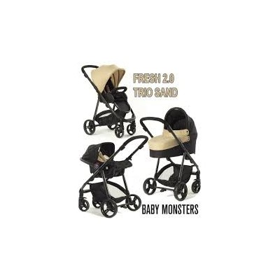 Capazo Baby Monsters 20 Sand