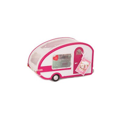 Caravana Roller Glamper Rosa