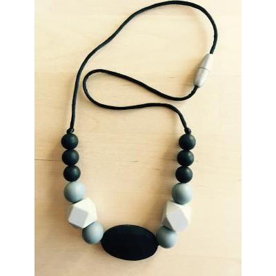 FF Collar Lactancia Negro Gris